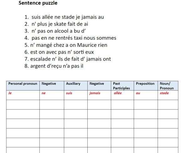 sentence-puzzles
